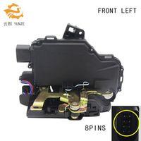 YUNZE FRONT LEFT FOR GOLF 4 IV MK4 SEAT SKODA VW PASSAT B5 BORA LUPO BEETLE DOOR LOCK