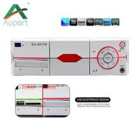 aupart Car Radio Stereo Player Bluetooth Phone holder AUX-IN MP3 FM/USB/1 Din/remote