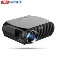 VIVIBRIGHT GP100 4K Full HD LED 1080P Home Theater Cinema Video Projectors 3200