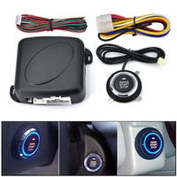 MAOZUA Car One Lock Ignition Keyless Entry System Go Push Button Engine Start Stop