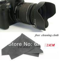 Tracking number+100% GUARANTEE Professional 77MM Reversible Petal Flower Lens Hood for Canon Nikon Sony Petal Rebel camera