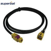 Superbat HSD Cable Assembly Female Jack K Coding Straight Male Plug Dacar 535 4pole