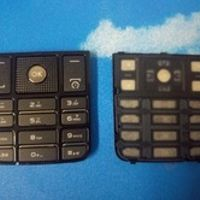 Original keypad for Philips X623 Cellphone, Key button for Xenium CTX623 keypads Mobile Phone Free shipping