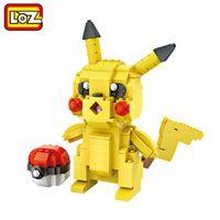 LOZ Pikachu Pokeball Action Figure Big Size Poke Ball IDEAS