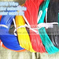 5 metres/lot super flexible 22AWG PVC insulated Wire Electric cable, LED cable, DIY Connect 7 color selectable Free shipping