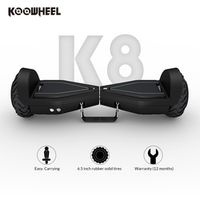 Koowheel LED Hoverboard 6.5 Inch Electric Scooter Portable Two Wheels Self Balance e