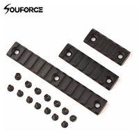 "souforce 2"" 3"" 5"" Picatinny Weaver Rail Mount 5/7/13 Slot Handguard Section 3 Sizes"