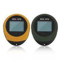 Kiomic Mini GPS Receiver Navigation Handheld Location Finder USB Rechargeable