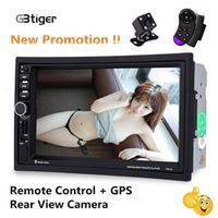 GBtiger 7021G 7 inch Vehicle MP5 Player 2 Din Bluetooth Multimedia FM Radio GPS Map