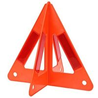 Auto Car Fold Warning Triangle Safety Emergency Reflective Flash Sign Vehicle Fault Cars Tripod Folded Stop Sign Reflector