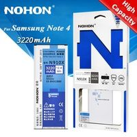 Original NOHON Battery EB-BN910BBE For Samsung Galaxy Note 4 N910F N910C N910U N910V