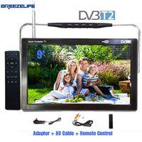 Breezelife DVB-T2 DC12 9 inch 10 inch USB HDMI Input HD Digital Car DVB Portable LED