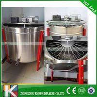 24 frame electrical stainless steel honey extractor