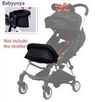 NEW Adjustable armrest Bumper bar with FOOT EXTENSION feetrest compatible with babyzen yoyo stroller,babyyoya stroller,yuya cart