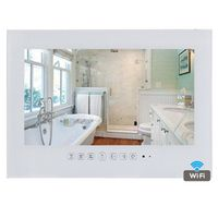 YAWATER 15.6 inch Android 4.2 Waterproof LED WiFi Bathroom TV - Black / White Color