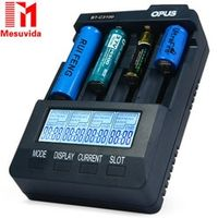 GBtiger Opus BT-C3100 V2.2 Smart Intelligent Battery Charger for Rechargeable Battery