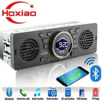 HoXiao 1 din Car radio MP3 player Bluetooth hands-free stereo FM built-in 2 speakers