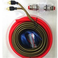 Subwoofer Amplifier Wiring 10GA Car Audio AMP Power Cable 1500w  With AGU FUSE