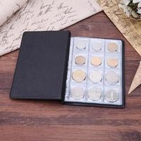 VKTECH 10 Pages 120 Pockets for Coins photo album