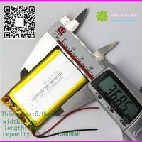 ZhiYuSun 503759 3.7V 1300mAh LiPo Rechargeable Li-Polymer Li-ion BATTERY For Mp3 MP4