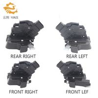 YUNZE 4 SIDES FRONT REAR LEFT RIGHT CENTRAL DOOR LOCK ACTUATOR FOR FORD FOCUS 1.8 MK2