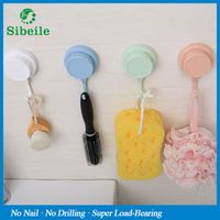 sibeile weiyu SBLE Bathroom Kitchen Organizer Hanger Suction Cup Hooks Stick On Wall