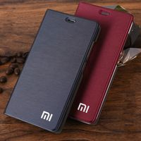 OCHGEP Phone Case Luxury Slim Style Flip Leather Case For Xiaomi Redmi 4A Cover Bag