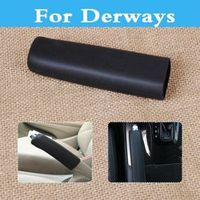 CUTEQUEEN Car Supplies Handbrake Hand Brake Case Black Sleeve Decorative Cover