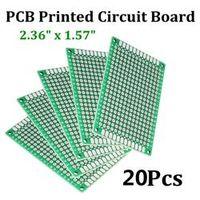 TMOEC 20pcs Double Side Prototype PCB diy Universal Printed