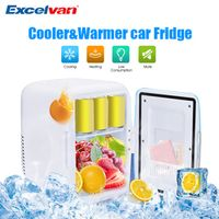 Excelvan 4L Mini Car Fridge Freezer 12V Portable Icebox Travel Refrigerator Cooler