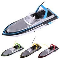 4Colors RC Speedboat High Speed Racing Boat Motor ship for fishing Toy Model Vehicle 27MHz / 40MHz Remote Control Racing Boat