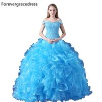 Forevergracedress Real Images Ball Gown Quinceanera Dress