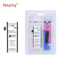 Nephy Battery For iPhone 5S 5C 5GS 1560mAh Top Phone Batteries Batteria With Machine