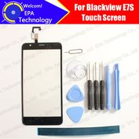 Blackview E7S Digitizer Touch Screen 100% Guarantee Original Glass Panel Touch Screen Digitizer For E7S+ tools + Adhesive