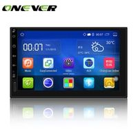 "Onever 7"" Android 5.1 Auto radio GPS Bluetooth Navigation Car Stereo Player Fully"