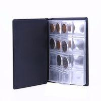 VKTECH 120 Pockets Mini Penny Storage Album Book Collecting