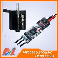 Maytech 6355 motor vesc and 6355 170KV motor for motor mount skateboard