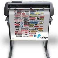 """Vicsign 24"""" HS630 inch Vinyl Cutting Cutter Machine Servo Semi-Automatic Contour"""