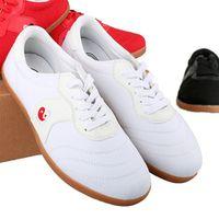 WuShu KungFu Tai Ji shoes Sneakers canvas 35-43 EUR Red White Black 1 order