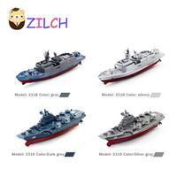2017 New Arrival 2.4GHZ Waterproof Aircraft Carrier Remote Control  Charging Simulation Electric Summer Play Water Children Toy