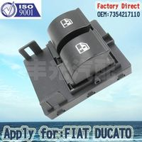 Factory Direct ELECTRIC WINDOW DOUBLE SWITCH Apply for FIAT DUCATO FRONT RIGHT