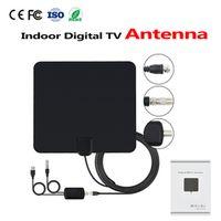 h96 pro HD Digital Amplified TV Antenna - 50 Miles Range ISDB ATSC DVB-T TV Indoor