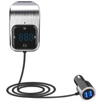 CDEN Touch button screen car mp3 player hands-free calling Bluetooth receiver car FM transmitter music player USB car charger
