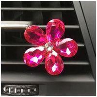 FGHGF Automobile air conditioning diamond flower car export perfume interior
