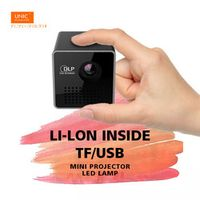 DLP LED LCD mini Pico UNIC handhold pocket projector beamer home theater P1/P1H/P1