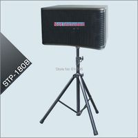 Professional Floor Type Speaker Stand Metal black per pair