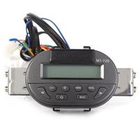 Rectangle Universal Motorcycle Handlebar Radio Audio Mp3 Speaker Support SD