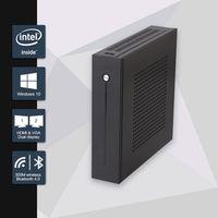 RGeek Celeron J1900 Quad Core Fanless Mini PC with VGA HDMI Dual 2 LAN Port 2 COM