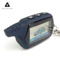 AUTOFAIR LCD remote controller for 2 way car alarm 91 engine starter starline A91 fob