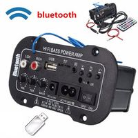 KONNWEI Multi-Functional Bluetooth HiFi Bass Power AMP Stereo Digital Amplifier USB